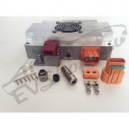 4mm² orange shielded cable