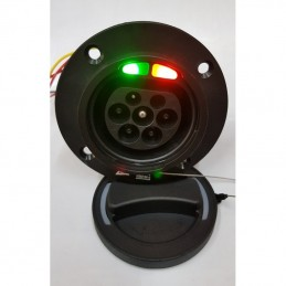 10mm² orange shielded cable